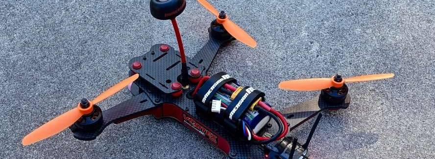 Drohne abgestürzt