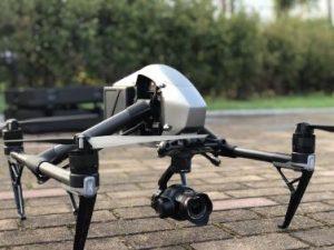 Drohne gelandet