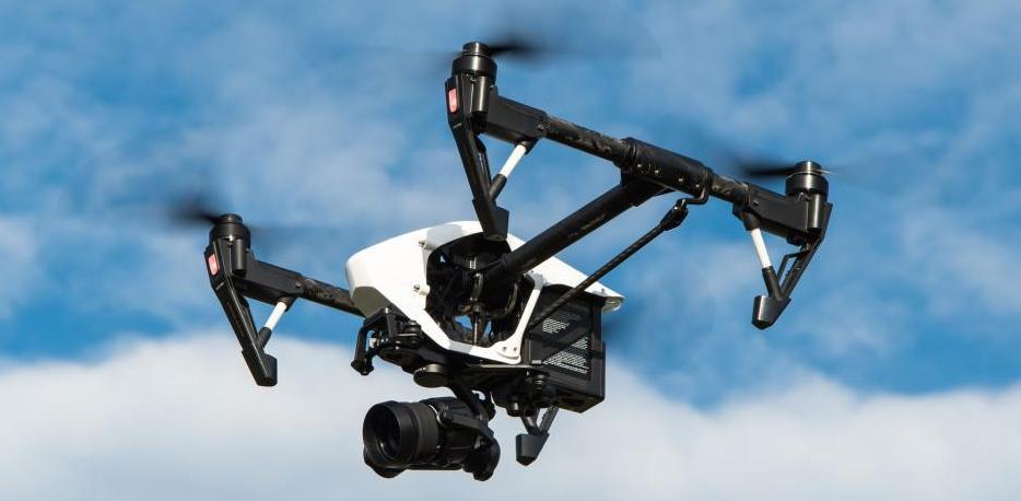Drohnenarten im Flug