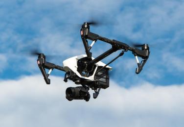 Drohne fliegt