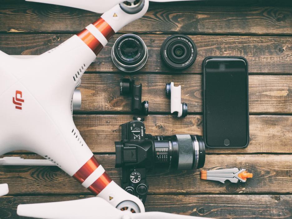 Drohne im Handgepäck
