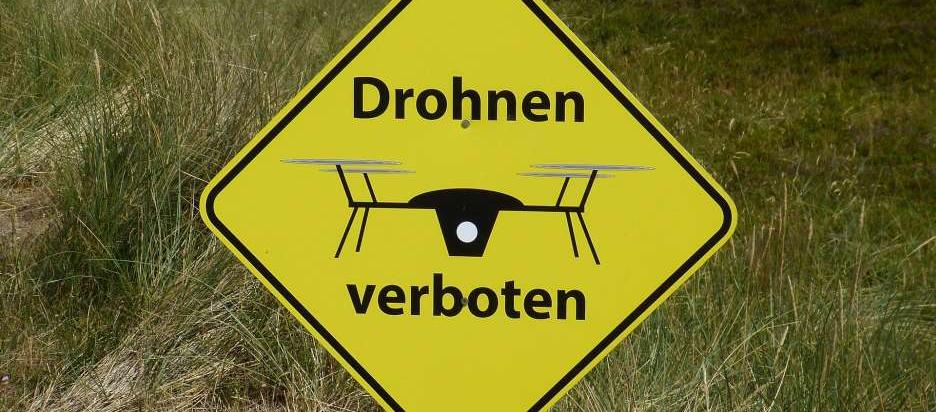 Drohnenverbot Flugverbotszohne