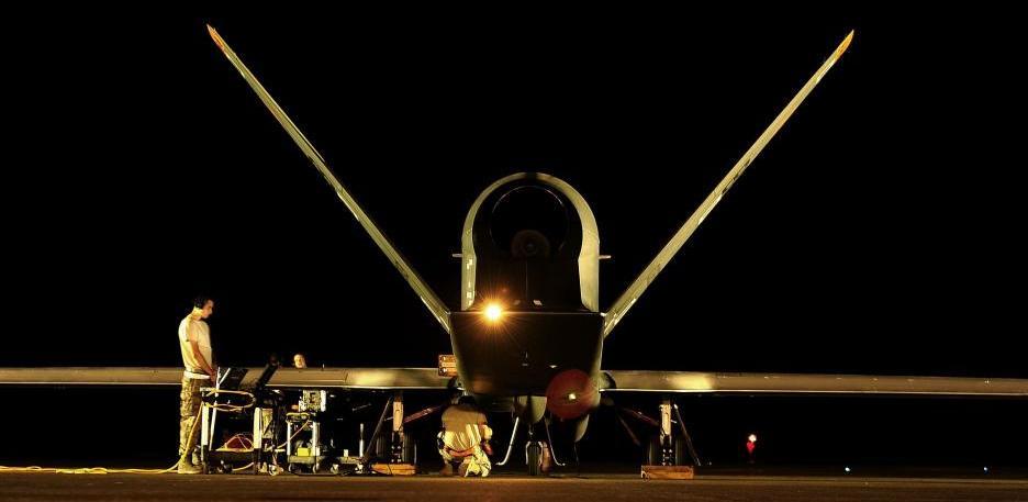 Drohne beim Militär