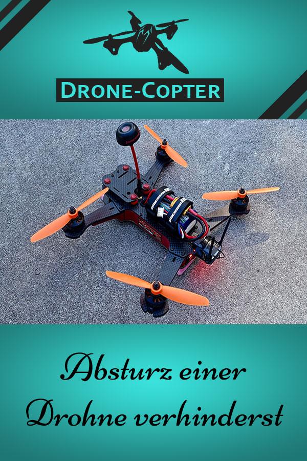 Absturz einer Drohne