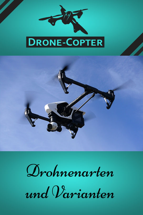 Drohnen Arten und Varianten