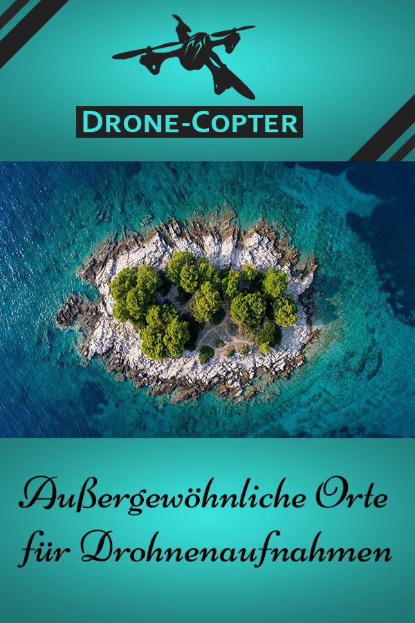 Außergewöhnliche Drohnenaufnahmen