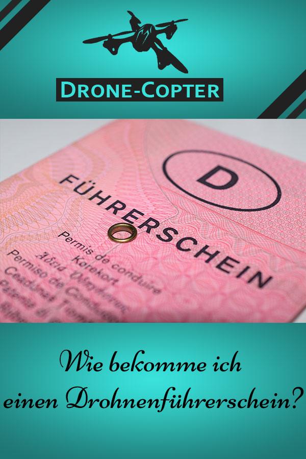 Drohne Führerschein