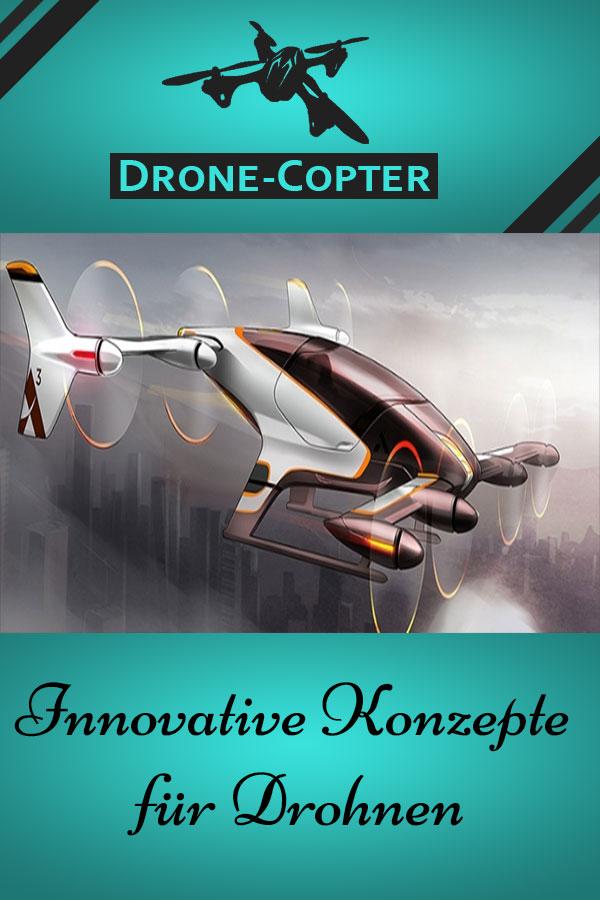 Drohne spektakuläre Konzepte