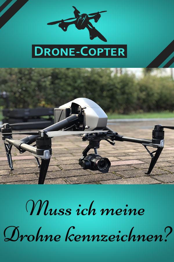 Drohne kennzeichnen