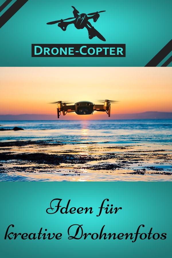 Kreative Drohnenaufnahmen