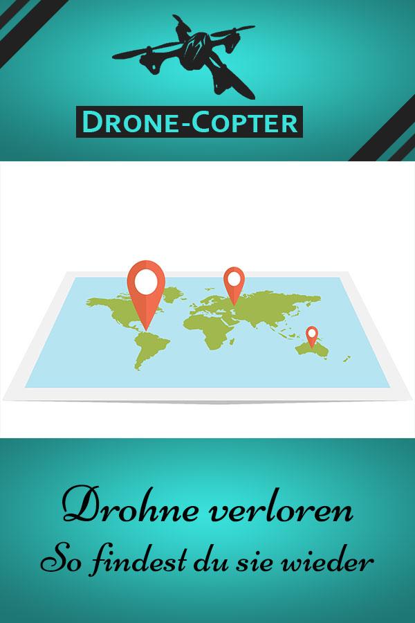 Drohne verloren - so findest du sie wieder