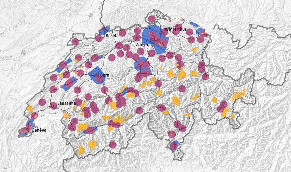 Drohne und Skigebiete in der Schweiz