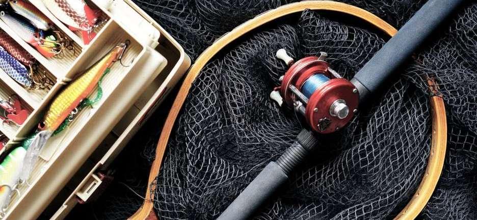 Drohne zum Angeln und Fische fangen