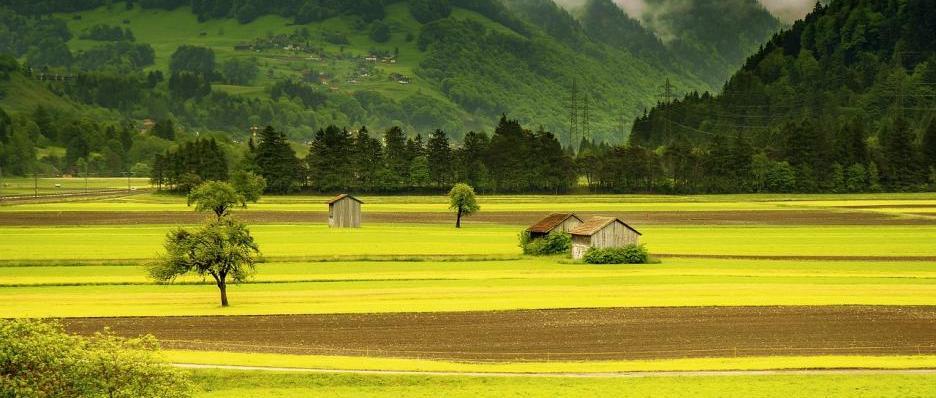 Landwirtschaft Drohne Klimaschutz
